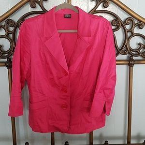 Pink Tribal blazer